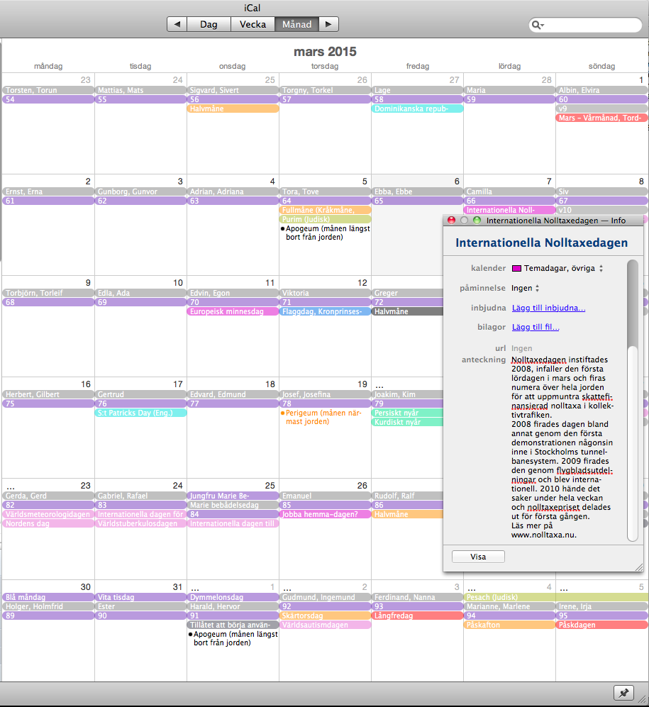 Kalendervy